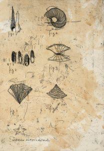 Dall'Atelier dei mari e dei venti, 2003, acquaforte.
