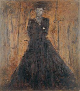 Bella coppia,1983, olio su tela, cm170 x 150.