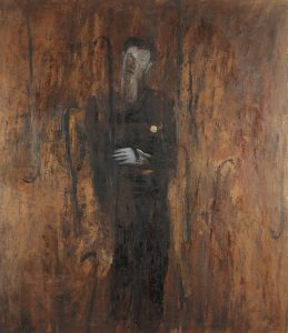 Bella coppia,1983, olio su tela, cm170x150