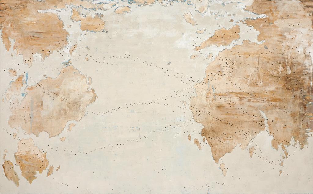 Mappa del mondo, Uccelli, 2012 - 2013 Ermitage