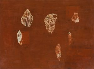 Marina piccola, olio su tela, cm 120 x 160.