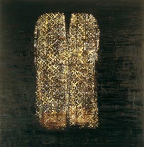 Senza Titolo, 1998-99, olio su tela, cm 290 x 285.