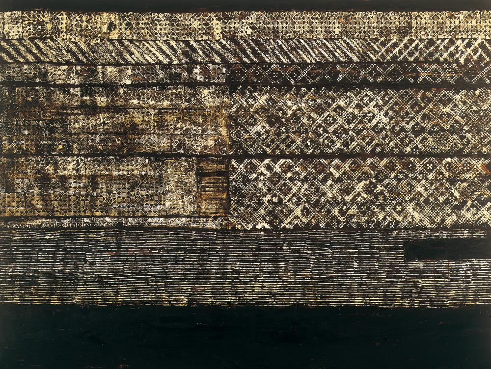 Senza Titolo, 1998-99, olio su tela, cm 220 x 290.