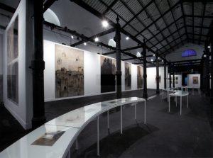 Allestimento della mostra Cattedrale - Foto di Claudio Abate.