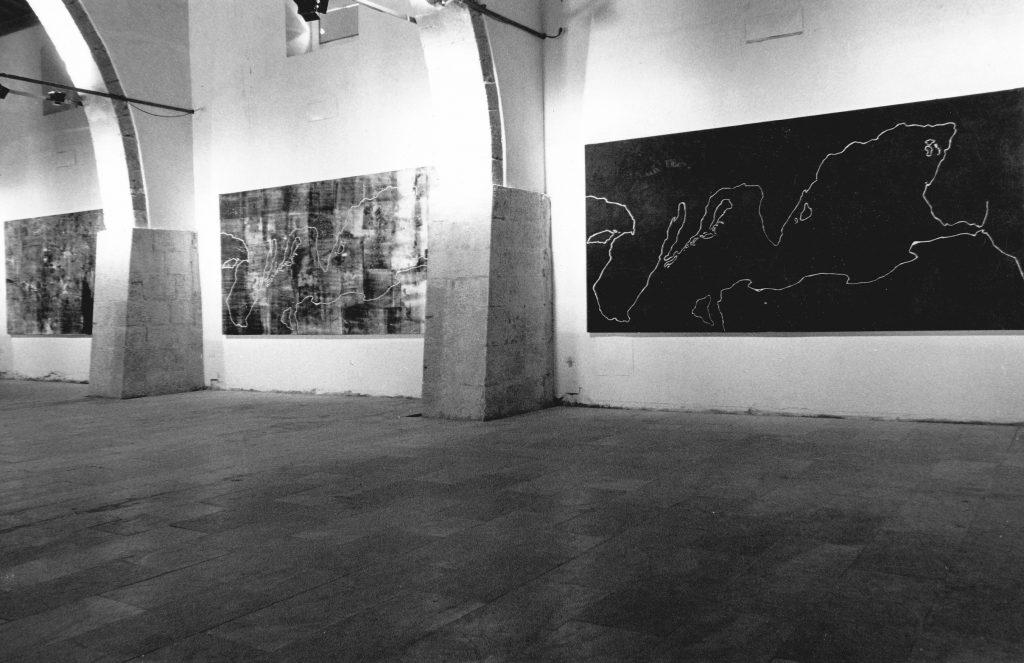 Allestimento della mostra al Museo Civico di Gibellina - Foto di Sergio Fasciani.