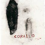 Corallo, tecnica mista su carta, cm 38 x 28,5.