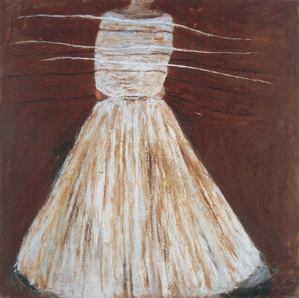 Nei giorni di festa, 1983, olio su tavola, cm 150x150.