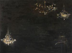 Salon de Musique, 2005-06, olio su tela, cm 300 x 400.