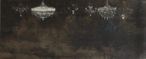 Salon de Musique, 2005-06, olio su tela, cm 300 x 740.