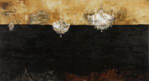 Salon de Musique, 2005-06, tecnica mista su tela, cm 300 x 255