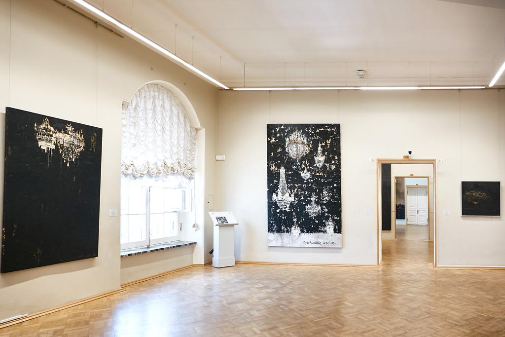 Salon de musique and other paintings - Ermitage