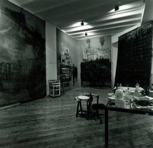 Le Cattedrali nello studio dell'artista a Roma - Foto di Rodolfo Fiorenza.