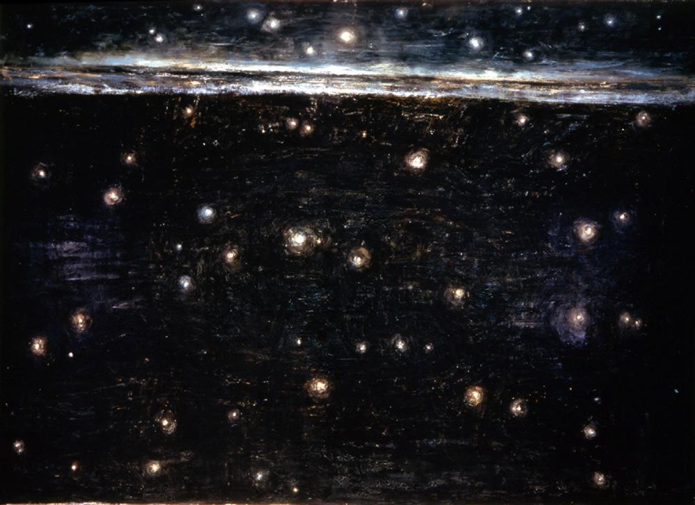 Tutte le stelle del cielo - Olio su tela - 1985 - cm 260 x 360.